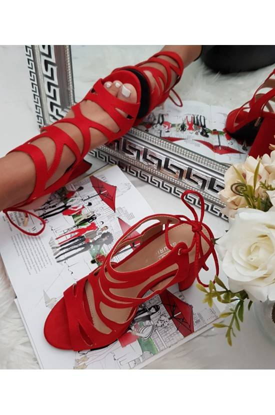 Talons lacets RED BKKX0326