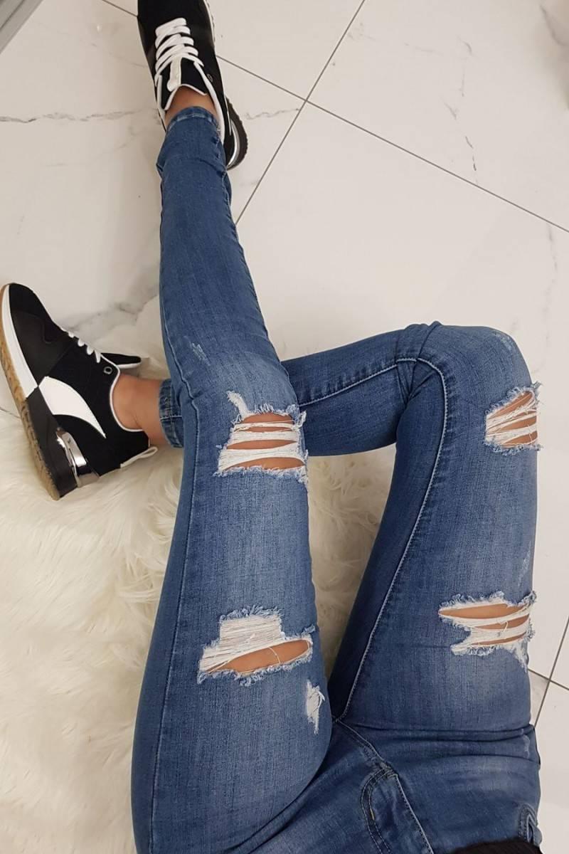 Jeans déchiré KLARA