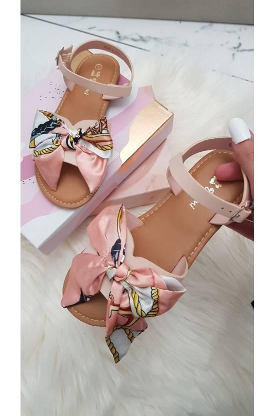 Sandales noeud rose enfant...