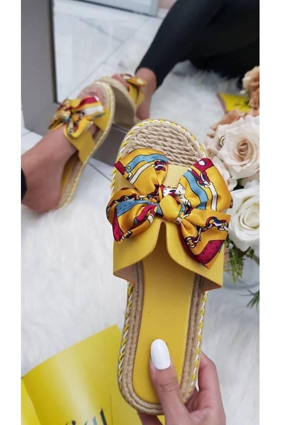 Sandales noeud satinée...