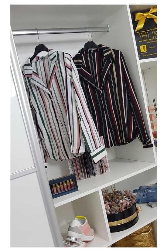 Chemise à rayures 183810