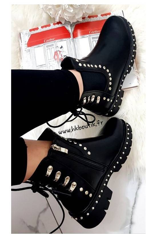 Bottines lacets 15679