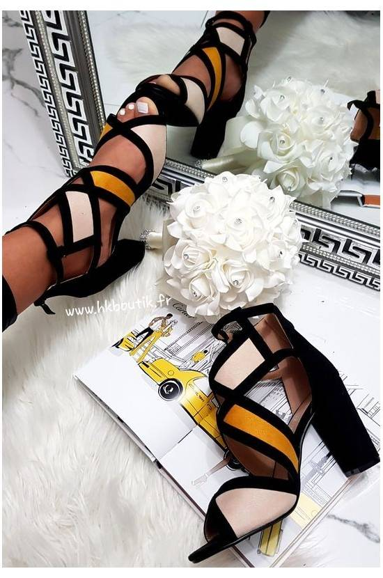 TALONS NUDE/YELLOW BYJ1839