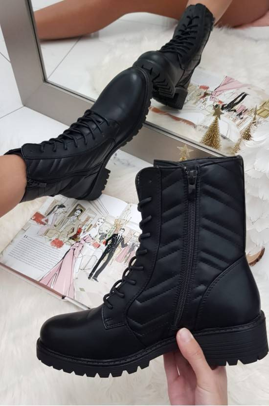 Bottines Noires ZT1017